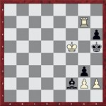 Mate en 4: 1.hxg3 Ae3 2.Tg4 Ag5 3.Th4+! Axh4 4.g4 mate.